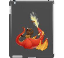 Dragon barbecue iPad Case/Skin