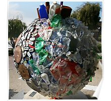 Recycle, don't pollute Poster