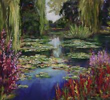 Monet's Lily Pond by Terri Maddock