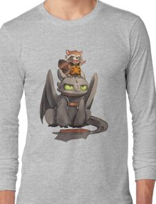 How to train your dragon ! Long Sleeve T-Shirt