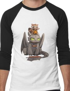 How to train your dragon ! Men's Baseball ¾ T-Shirt