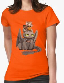 How to train your dragon ! Womens Fitted T-Shirt