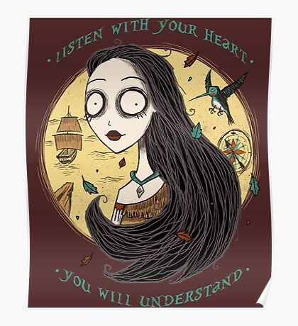 Listen with your heart Poster