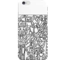 Robot Society iPhone Case/Skin