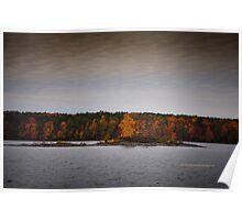 New York's Salmon river reservoir  II Poster