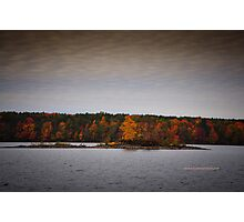 New York's Salmon river reservoir  II Photographic Print