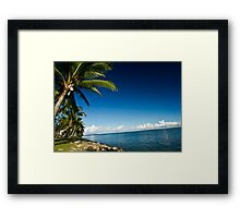 Denarau Island, Fiji Framed Print