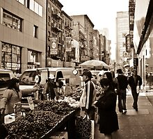 Fruit Market in China Town by EligoDesign