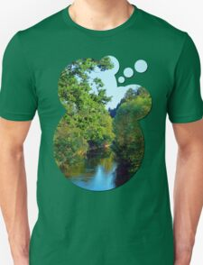 A summer evening along the river III | waterscape photography T-Shirt