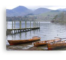 Keswick. Down the jetty. Metal Print