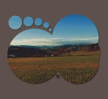 Panorama at indian summer | landscape photography Baby Tee