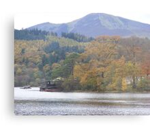 Autumn colours across Keswick Metal Print