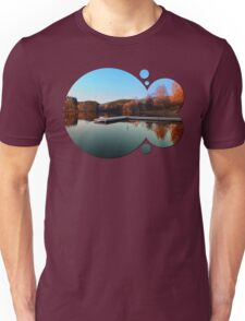 Romantic evening at the lake III | waterscape photography Unisex T-Shirt