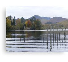 Autumn Lake Keswick Metal Print