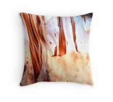 Fire Falls Throw Pillow
