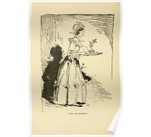 A Christmas Carol by Charles Dickens art by Arthur Rackham 1915 0120 With The Pudding Poster