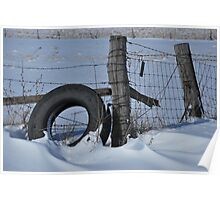 "Snow Tire ""d"" Poster"