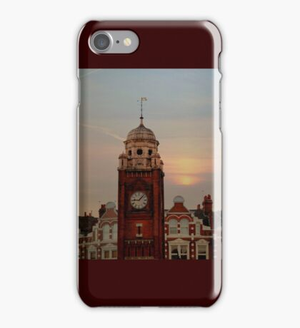 sunset over crouch end N8  iPhone Case/Skin