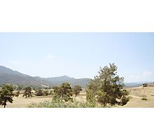 a wonderful Cyprus landscape Photographic Print
