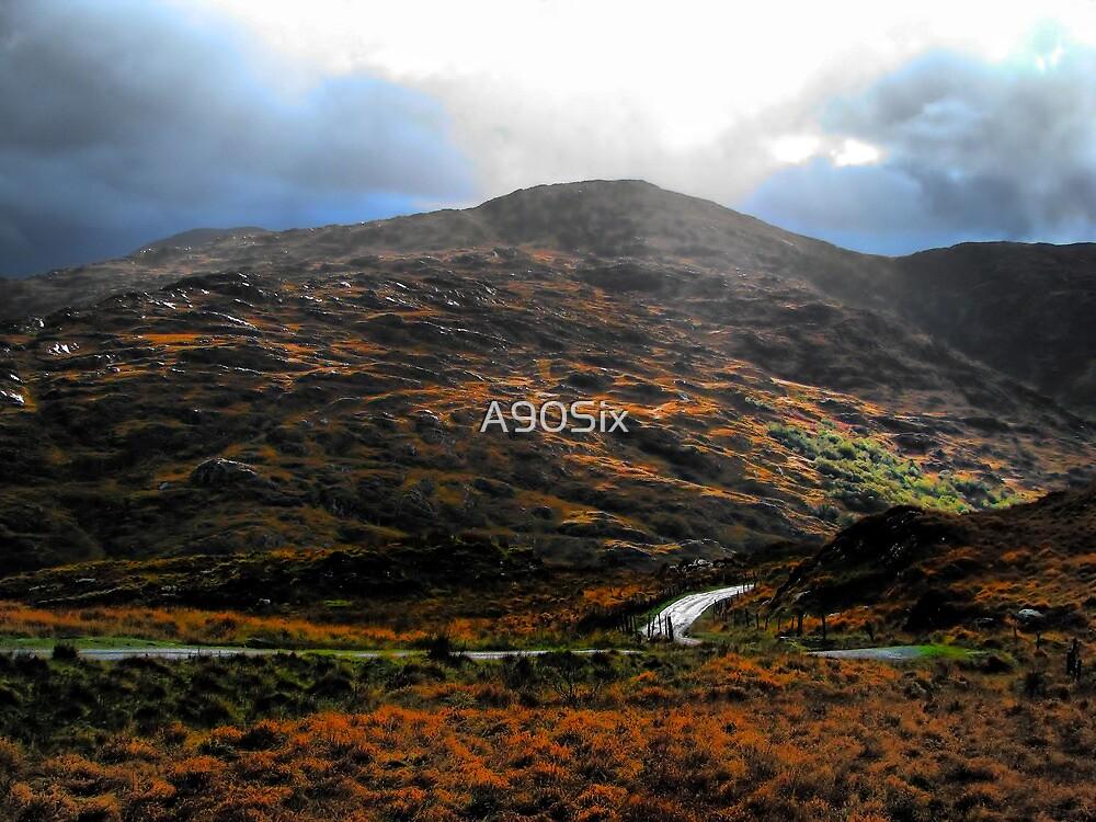 Sun Showered Mountains - Dunloe by A90Six