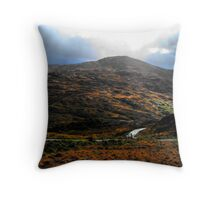 Sun Showered Mountains - Dunloe Throw Pillow