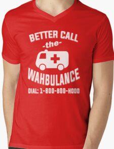 Better call the wahbulance - dial 1800 boo hoo Mens V-Neck T-Shirt