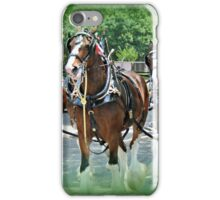 Clydesdales iPhone Case/Skin