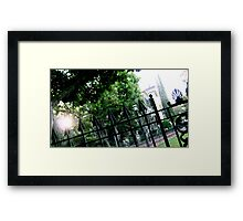 Haunted 01 Framed Print