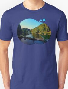A summer evening along the river | waterscape photography T-Shirt