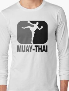 Muay Thai - Thai Boxing Long Sleeve T-Shirt