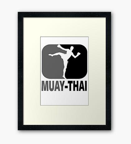 Muay Thai - Thai Boxing Framed Print