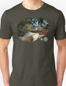 Nature, a river and colorful reflections | waterscape photography T-Shirt