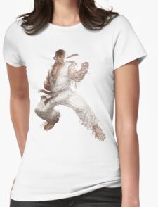 wondering warrior Womens Fitted T-Shirt