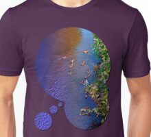 Ducks on patrol   waterscape photography Unisex T-Shirt