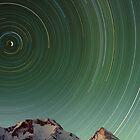 Star Trail, Inylchek Glacier, Kyrgyzstan by Leo Shum