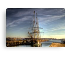 The Good Ship Friendship Canvas Print