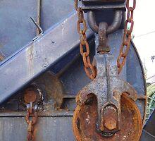 Mechanical Wheel 3 by Luc Bourgeois