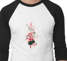 Off to Wonderland Men's Baseball ¾ T-Shirt