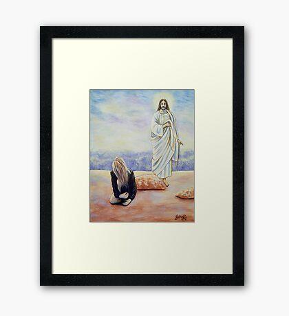 Lord? Framed Print