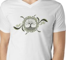 Life:Tree v02 Mens V-Neck T-Shirt