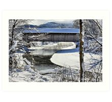 Winter Scene In Montgomery Art Print