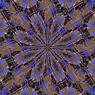 Kaleidescope Abstract  Flowers by MaeBelle