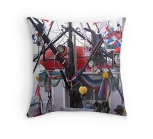 A Cacophony of Colours 1 Throw Pillow