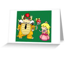 Princess Peach X Bowser Greeting Card