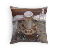 Galley Pump 1 Throw Pillow