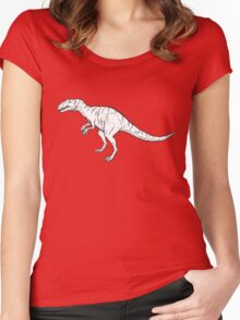Allosaurus Women's Fitted Scoop T-Shirt