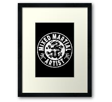 Mixed Martial Artist Framed Print