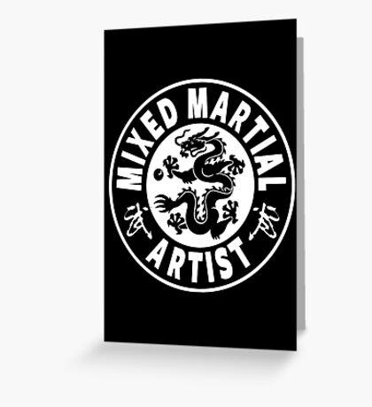 Mixed Martial Artist Greeting Card