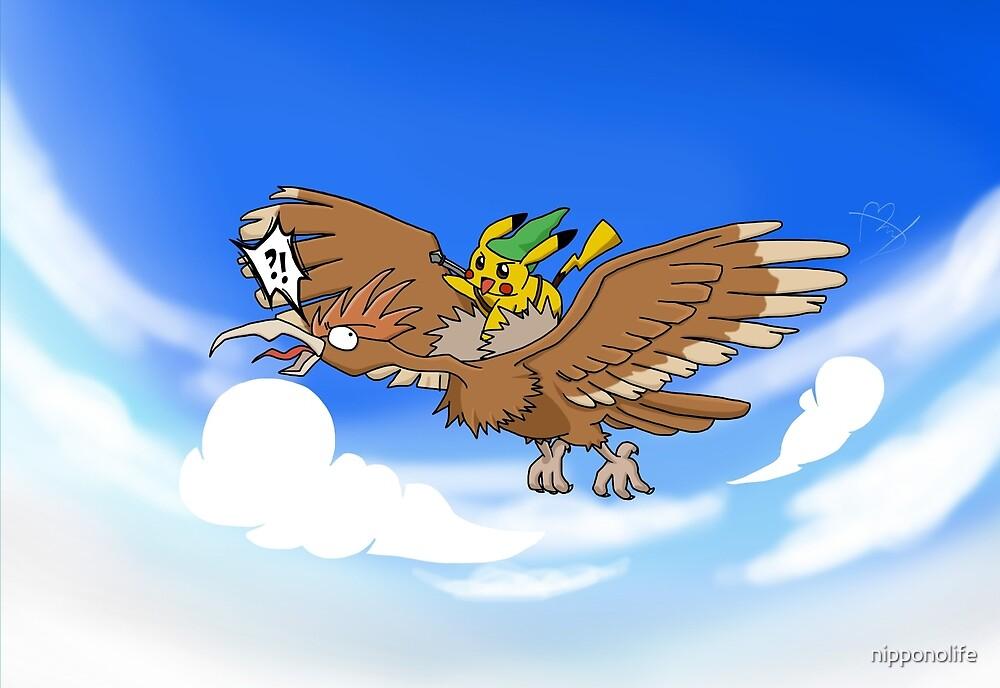 Pokemon Zelda by nipponolife