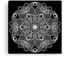 Abstract circular pattern Canvas Print